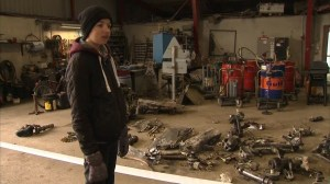 14-year-old working on school project finds WWII plane with pilot's remains in cockpit