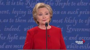 Presidential debate: Donald Trump says Clinton's email scandal was 'not a mistake'