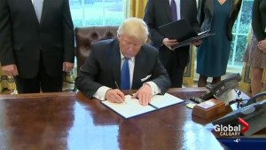 Keystone XL pipeline approved by President Donald Trump