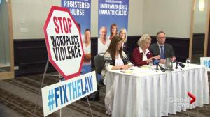 Legislation needed to prevent workplace violence: NB Nurses Union