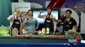 The Three Amigos in the Global kitchen