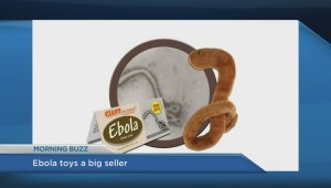 Ebola plush toy completely sold out