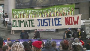 Climate Rally held in Vancouver