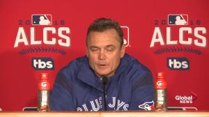 'I don't think it was a lack of something we did – they got the big home run': Gibbons