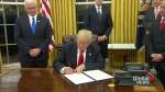 Trump Inauguration: Trump signs executive order easing burdens associated with Obamacare