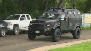 Winnipeg police unveil armoured rescue vehicle