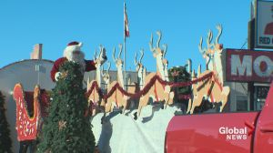 Fort Macleod host annual Santa Clause Parade