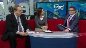 Global Calgary expert panel dissects Alberta budget 2016