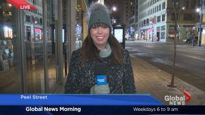 Morning News weather forecast: Monday, January 23