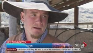 Ashcroft residents return