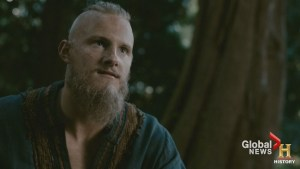 'Vikings' star Alexander Ludwig on dating advice and Season 4's return