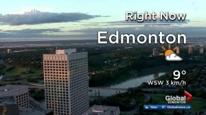 Edmonton early morning weather forecast: Friday, June 23, 2017