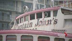 Captain John's expected to be towed away this month