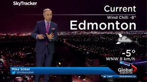 Edmonton early morning weather forecast: Thursday, February 23, 2017
