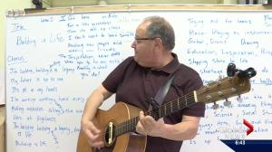 Singer-songwriter helps Edmonton students unleash their musical creativity