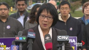 Chow lays out transit plan, slams Tory for being too similar to Ford