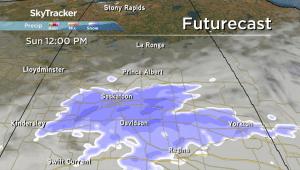 Saskatoon weather outlook: freezing rain, snow this weekend