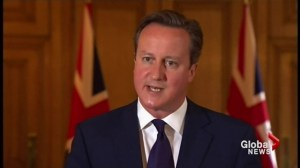 "British PM calls IS militants ""monsters"" after third beheading video released"