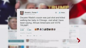 Backlash against Trump over tweet about NBA player's cousin's death