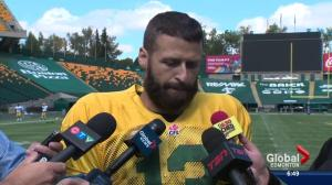 When will Mike Reilly be back in action?