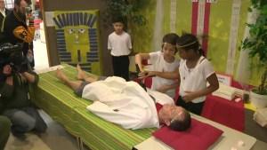 Winnipeg students mummify their vice principal