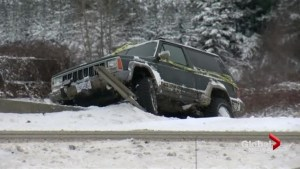 Winter wallops B.C.  with record snowfall