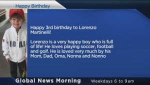 Happy Birthday Lorenzo!