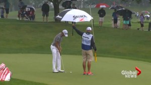 Weather causes delays for Canadian Open