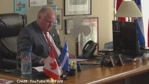 Rob Ford's new campaign video might break election rules