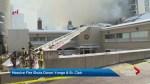 Toronto firefighters battle 6-alarm fire in midtown Toronto