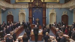Quebec National Assembly observes moment of silence for Jean Béliveau