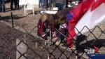 Calgary community plants 1000 tulips for Canada's 150th Birthday