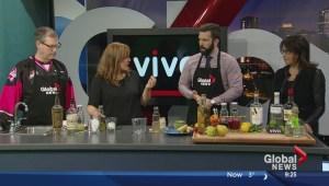 In the Global Edmonton kitchen with Vivo Ristorante