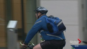 Final section of downtown cycle track opens