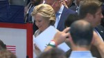 Hillary Clinton votes in historic U.S. presidential election