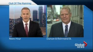 Doug Ford explains why he won't run for PC leadership