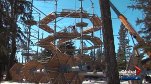 Edmonton aerial park preparing to open in spring