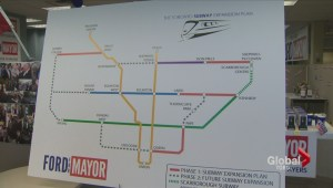 Rob Ford to 'bore' his subway plan through 'until the cows come home'