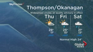 BC Evening Weather Forecast: Aug 26