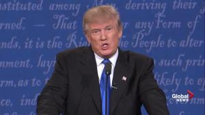 Presidential debate: Trump says China, other countries may have been responsible for DNC hack
