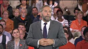 Mulcair continues to slam TPP agreement