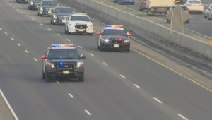 RAW: Sgt. Andrew Doiron's motorcade on the Highway of Heroes