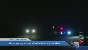 Third sister dies after tragic farming accident near Withrow, Alberta