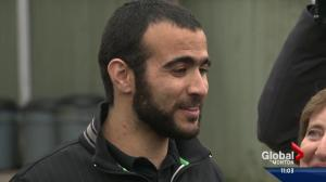 Omar Khadr free after nearly 13 years in prison