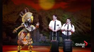 Leading men of 'The Book of Mormon' musical