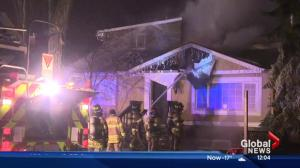 Northeast Edmonton home damaged in fire