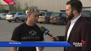 Fort McMurray resident describes 'pretty chaotic' scene