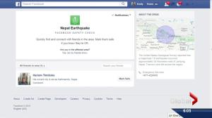 Social networks help Nepal search