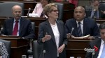 Premier Kathleen Wynne questioned about safety in school classrooms