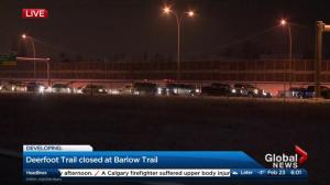 Delays on northbound Deerfoot Trail